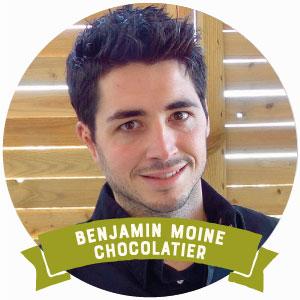 Benjamin Moine est patissier chocolatier et traiteur sur le Bassin d'Arcachon