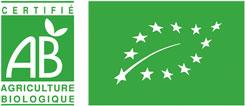 Logo label bio AB pour les produits du Panier de Pomone sur le Bassin d'Arcachon