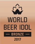 Logo bronze de la meilleure bière du monde France 2017