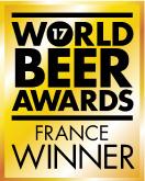 Logo gold de la meilleure bière du monde France 2017