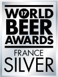 Logo silver de la meilleure bière du monde France 2017