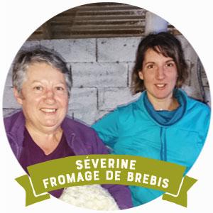 Severine productrice de fromage de brebis et vente en circuit court à Bordeaux et Arcachon