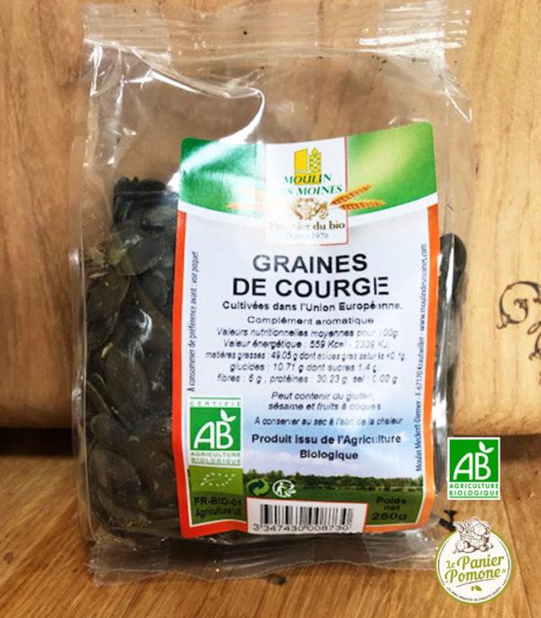 Le Panier de Pomone vous livre des graines de courge bio et des fruits et legumes bio en circuit court sur le bassin d'arcachon et bordeaux