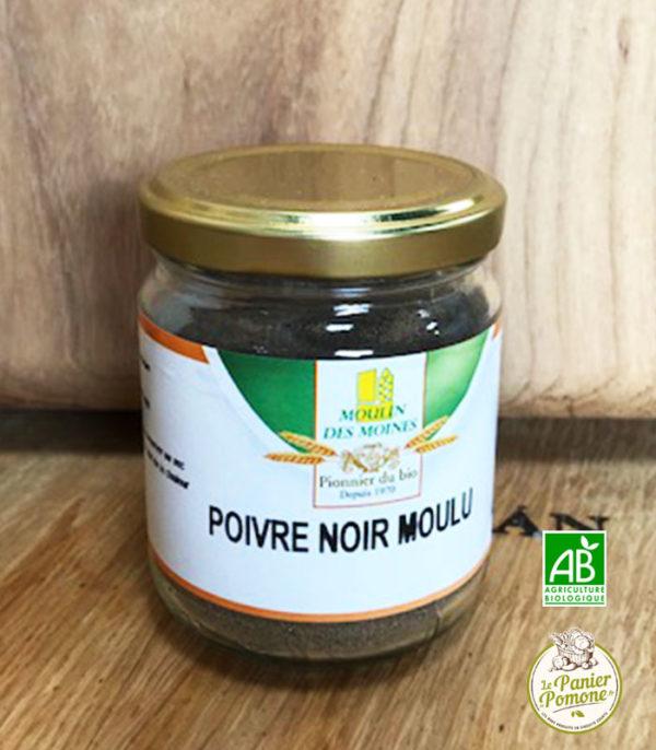 Le Panier de Pomone vous livre du poivre noir et des fruits et legumes bio en circuit court sur le bassin d'arcachon et bordeaux