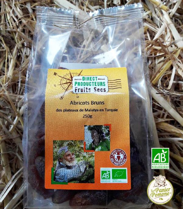 Le Panier de Pomone, livraison d'abricots bruns bio et fruits et legumes bio en circuit court à La Teste, Arcachon et Bordeaux
